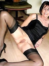 Mature, Mature pussy, Mature stocking, Old pussy, Stockings pussy, Old