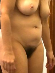 My wife, Bush, Amateur hairy, Hairy amateur, Wifes tits