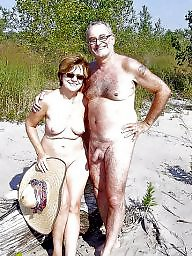 Nudist, Couples, Nudists, Mature couple, Mature nudist, Mature public