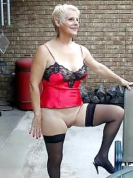 Mature stocking, Beautiful mature, Stocking mature