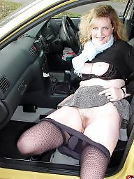 Hairy mature, Mature stockings, Hairy amateur, Driving, Lady, Hairy matures