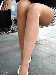 Lady, Long legs