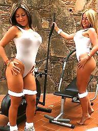Twins, Twin, Workout, Latin teen