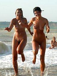 Naturist, Girl, The public, Public nudity