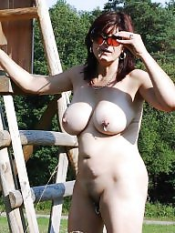 Big mature, Mature boobs, Matures, Woman, Public mature, Public boobs