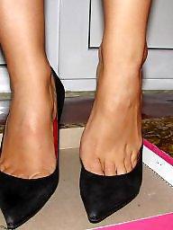 Feet, High heels, Heels, Hidden