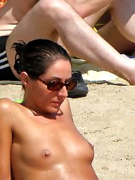 Beach, Teens, Teen beach, Voyeur beach, Beach amateur