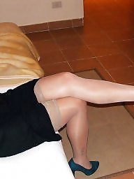 Mature stocking, Milf stockings, Wife mature