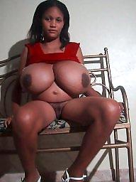 Black, Ebony big boobs