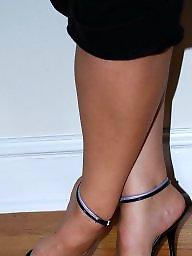 Sandals, Legs, Fingering