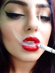 Smoking, Smoke, Lipstick