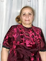 Sexy granny, Russian, Russian granny