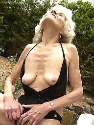Granny, Amateur granny, Grab, Grabbing