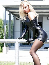 Femdom, Leather, Dress