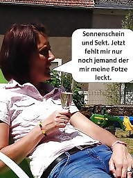 German captions, Caption, German caption, Milf captions, German milf