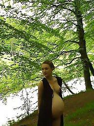 Pregnant, Bbw pregnant, Outside, Pregnant bbw, Bbw amateur, Friends