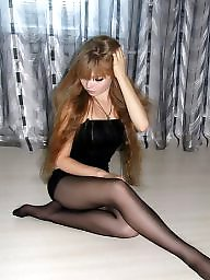 Nylon, Russian, Nylons, Nylon teen, Teen stockings, Amateur nylon