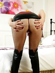 Fishnet, Mature pantyhose