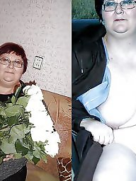 Dressed undressed, Russian, Russian mature, Undressed, Dressed, Undressing