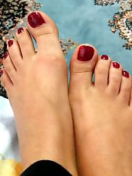 Feet, Old, Foot, Turkish milf, Turkish, Funny