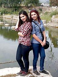 Turkish milf, Voyeur tits