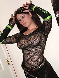 Old and young, Fishnet, Seethrough, Milfs