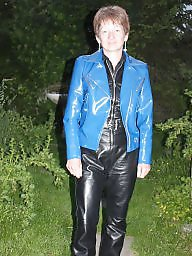 Leather, Boots, Pvc, Latex, Mature boots, Mature latex