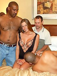 Cuckold, Group, Interracial cuckold, Cuckolds, Groups, Group sex