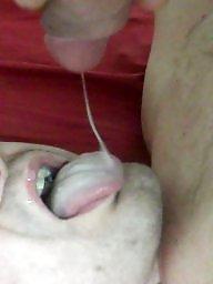 Swallow, Blowjob cum, Cum swallow, Swallowing, Cum swallowing, Amateur facials