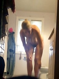 Big pussy, Unaware, Hairy pussy, Hairy wife, Natural tits, My wife