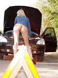 Public nudity, Public amateur