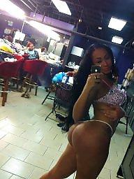Ass, Ebony ass, Stripper