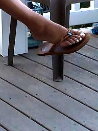 Vacation, Candid, Amateur feet