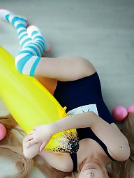 Asian teen, Cosplay, Asian cartoon, Teen asian