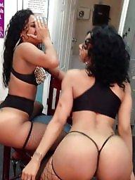 Stripper, Ebony ass, Black ass