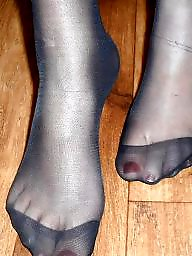 Nylon feet, Stocking feet, Amateur nylon, Amateur feet, Nylons feet