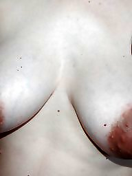 Nipples, Face, Areola, Faces, Big amateur tits