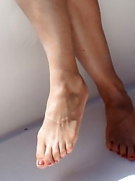 Feet, Fetish, Sandals, Hidden cam, Amateur feet, Barefoot
