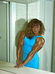 Muscle, Retro, Muscles, Female
