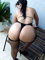 Stockings, Round ass