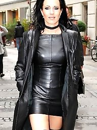 Leather, Skirt, Lady, Tight, Tight skirt, Skirts