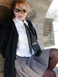 Upskirt, Stockings