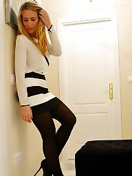 Leggings, High heels, Long legs, Nylons, Teen stockings, Teen dress