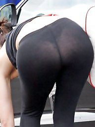 See through, Leggings, See-through, Through