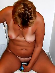 Mature posing, Naked, Hubby, Posing