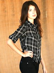 Asian, Brunette