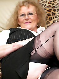 Granny, Nylon, Grannies, Nylons, Granny stockings, Suck