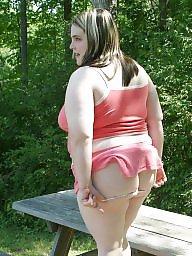 Bbw upskirt, Upskirts, Pink