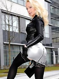Latex, Leather, Milf upskirt, Milf upskirts, Upskirt milf, Milf leather
