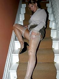 Nylons, Vintage nylon, Models, Upskirt stockings, Model